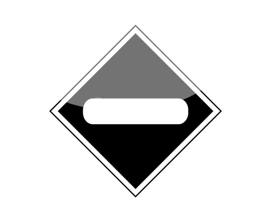Знак Опустить токоприемник, фото 1