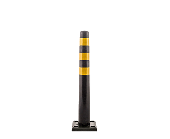 Столбик разделительный гибкий черный 750 мм, фото 1