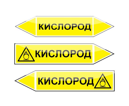 "Маркировка трубопроводов ""Кислород"", фото 1"