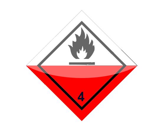 Знак опасности 4 класса (4.1), фото 1