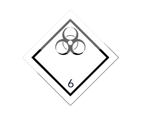 Знак опасности 6 класса ( 6.2 ), фото 1