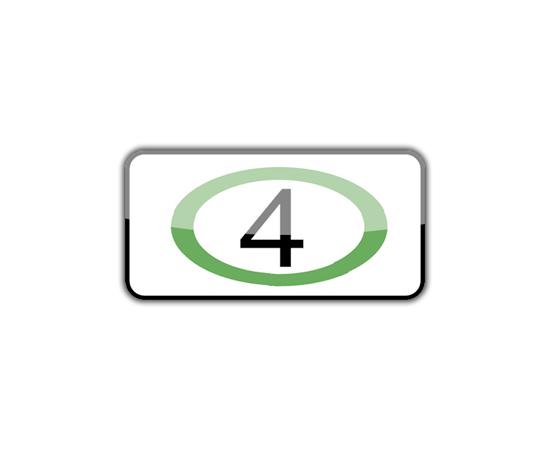 дорожный знак 8.25  экологический класс транспортного средства, фото 1