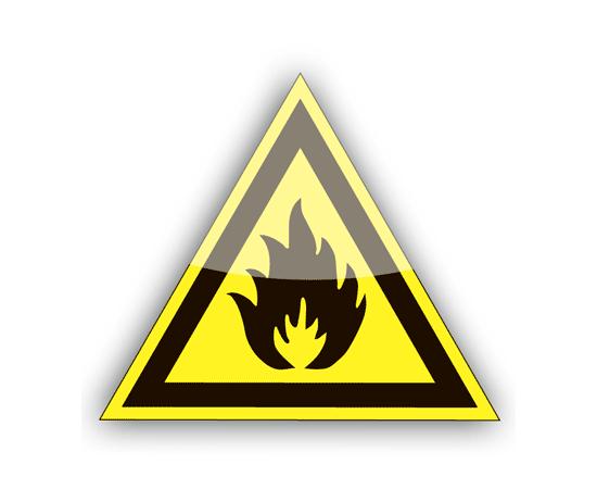 Щит-указатель  Пожароопасно. Легковоспламеняющиеся вещества, фото 1