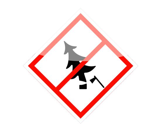 Знак Запрещена вырубка деревьев и кустарника, фото 1