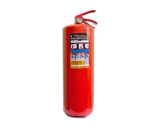 Огнетушитель порошковый ОП-8 (з) ABCE, фото 1