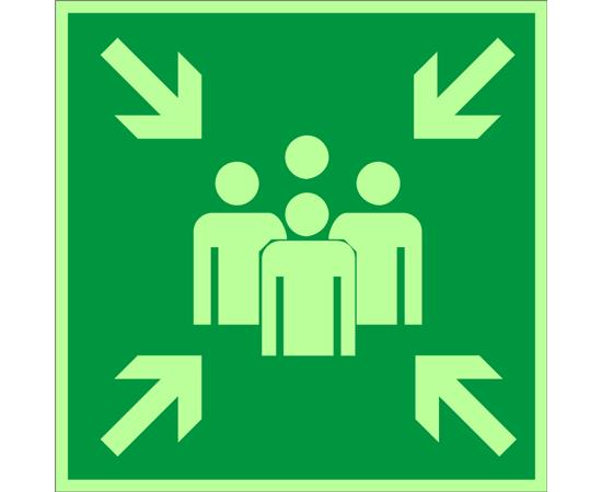 знак Е 21 Пункт (место) сбора, фото 1