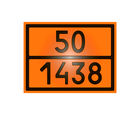 Знак опасности 50-1438 алюминия нитрат, фото 1