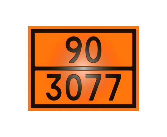Знак опасности 90-3077 оксид молибдена, фото 1