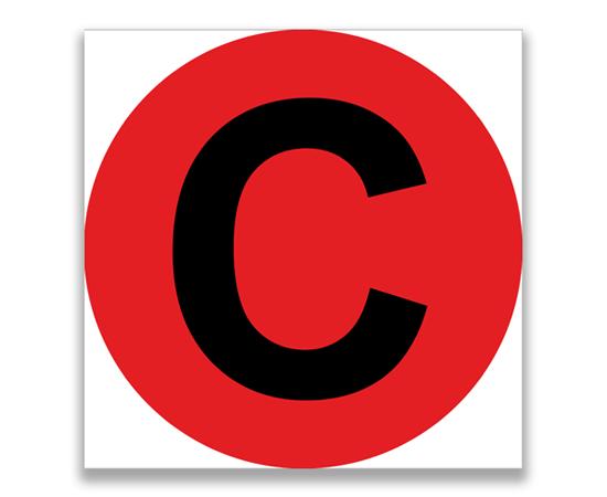 Знак Расцветка фаз на ВЛ. Фаза «В», фото 1
