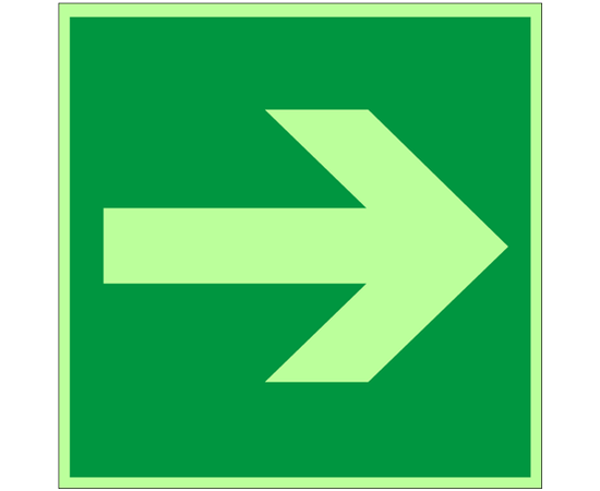 знак Е 02-01 Направляющая стрелка, фото 1