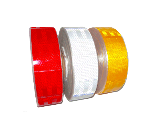Лента светоотражающая контурная микропризматическая (красная), фото 2